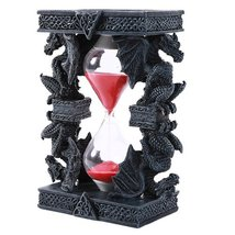 Pacific Giftware Mythical Fantasy Guardian Stone Dragon Sandtimer Hourglass - $19.99