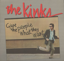 The Kinks Give The People What They Want Vinyl Record Album VG+ Vinyl - $14.99