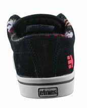Etnies Hombre Negro/Bronceado/Rojo Piel Ante Jameson 2 Bajo Top Skate Shoes NW image 3