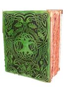 300 Red ancient Page Celtic Tree of Life Pentagram Spell green Book Top ... - $169.99