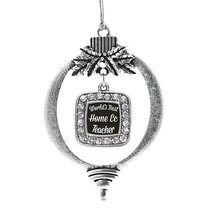 Inspired Silver World's Best Home Ec Teacher Classic Holiday Decoration ... - $14.69