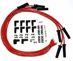 Buick HEI Distributor Red Cap BB 400 430 455 & 8mm Spark Plug Kit image 5