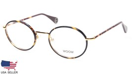 NEW All Right 5 by WOOW Col 901 Gold Tortoise EYEGLASSES 47-19-144 B37mm... - $183.14