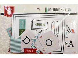Fancy Pants Designs Holiday Hustle Ephemera Pack #2857 image 2