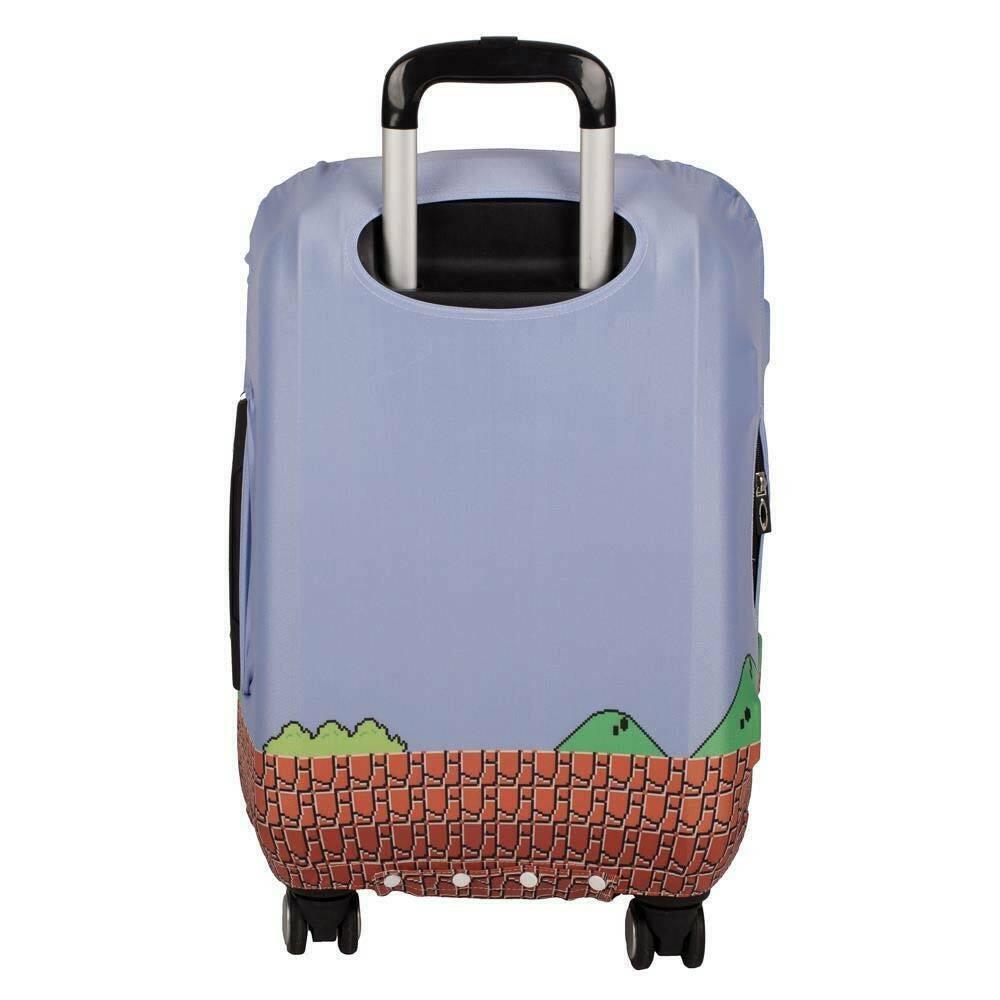 Super Mario Suitcase Luggage Cover Blue