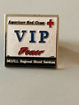 American Red Cross VIP Donor Pin - $5.69