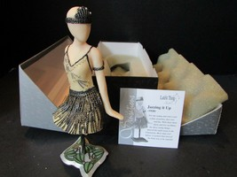 JAZZING IT UP 1920 WILLITTS FIGURINE THE LATEST THING STYLE SENSATIONS 6... - $3.46