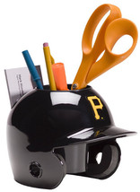 Pittsburgh Pirates MLB Baseball Schutt Mini Batting Helmet Desk Caddy - $21.95