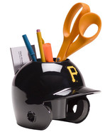 Pittsburgh Pirates MLB Baseball Schutt Mini Batting Helmet Desk Caddy - $19.95