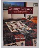 Country Elegance Cotton and Wool Projects from the Quilted Crow Girls - $25.50