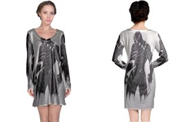 Black Panter Women's Long Sleeve Night Dress - $23.80+