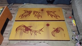 Original Native Canvas Paintings - Signed - $10,000.00