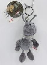 "NICI Ant Grey Key Chain Animal Plush Stuffed Toy Beanbag Keyring 4"" - $12.50"