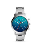 New Fossil Men's Townsman Chronograph Stainless Steel Watch Variety Color - $128.69+