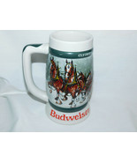 1982 Budweiser 50th Anniversary Clydesdale's Holiday Beer Stein - $15.99