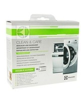 GENUINE ELECTROLUX DESCALER + DEGREASER 10 PACK FOR WASHING MACHINES 902... - $13.17