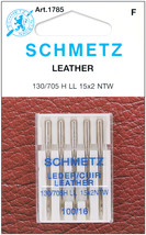 Schmetz Leather Machine Needles Size 16/100 5 Per Pack - $7.49