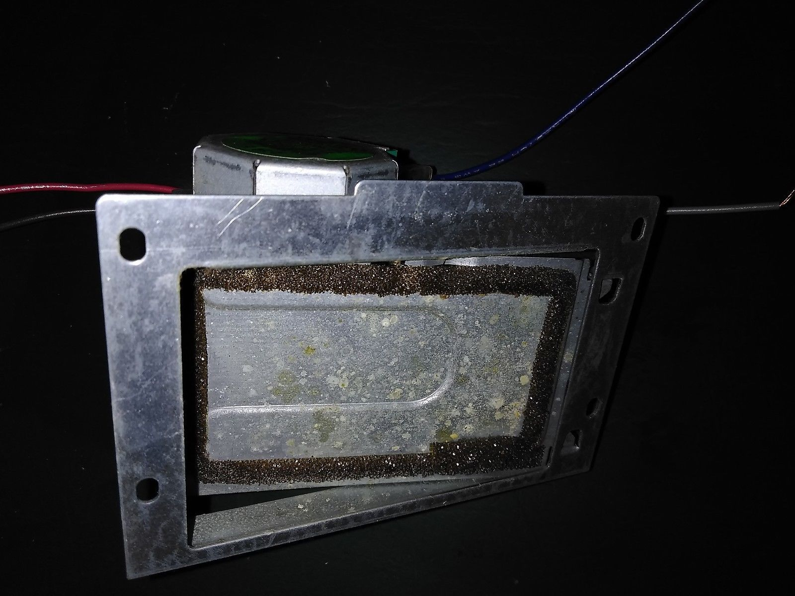 "Primary image for 7HHH51 VENT DOOR FROM OVEN, MOTOR DRIVEN, ALL STEEL, 3-5/8"" X 2-1/2"" OPENING, GC"