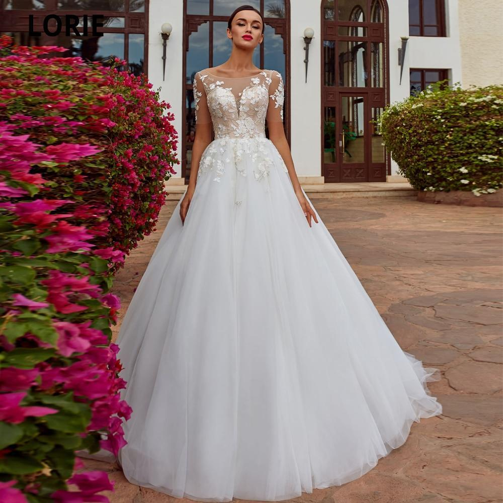 Nt lace wedding dresses beach bride gowns soft tulle bohemia wedding gowns country party dresses