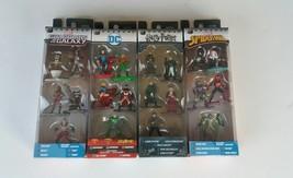 Jadatoys Nano Metalfigs Marvel DC Guardians Harry Potter Assorted Age 3+... - $12.99