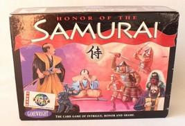 Gamewright Boardgame Honor of the Samurai 1st Printing - $24.99