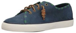 Womens Sperry Top Sider SEACOAST Fashion Sneaker Rawhide Lace Nubuck NAVY US 9.5 - $80.60 CAD