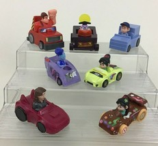 Wreck It Ralph 2 Ralph Breaks The Internet 7pc Lot Toy Cars Disney McDonalds A3 - $14.80