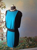 Sandra Darren Women's Color Block Cap Sleeve Dress SZ 8 - $29.69