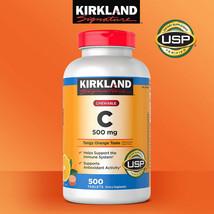 Kirkland Signature Chewable Vitamin C 500 mg., 500 Tablets - $17.20
