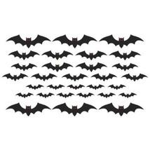 Mega Bat Cut Outs Value Pack Cemetery 30 Pc - €6,66 EUR