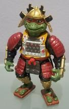 N) 1993 Teenage Mutant Ninja Turtles Samurai Raphael Playmates Toys Mirage - $9.89