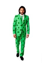 OppoSuits Men's Patrick Party Costume Suit, Green, 42 - $126.26