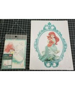 Disney's Palace Pets Lithograph (Ariel Little Mermaid) and Daiso message... - $13.99