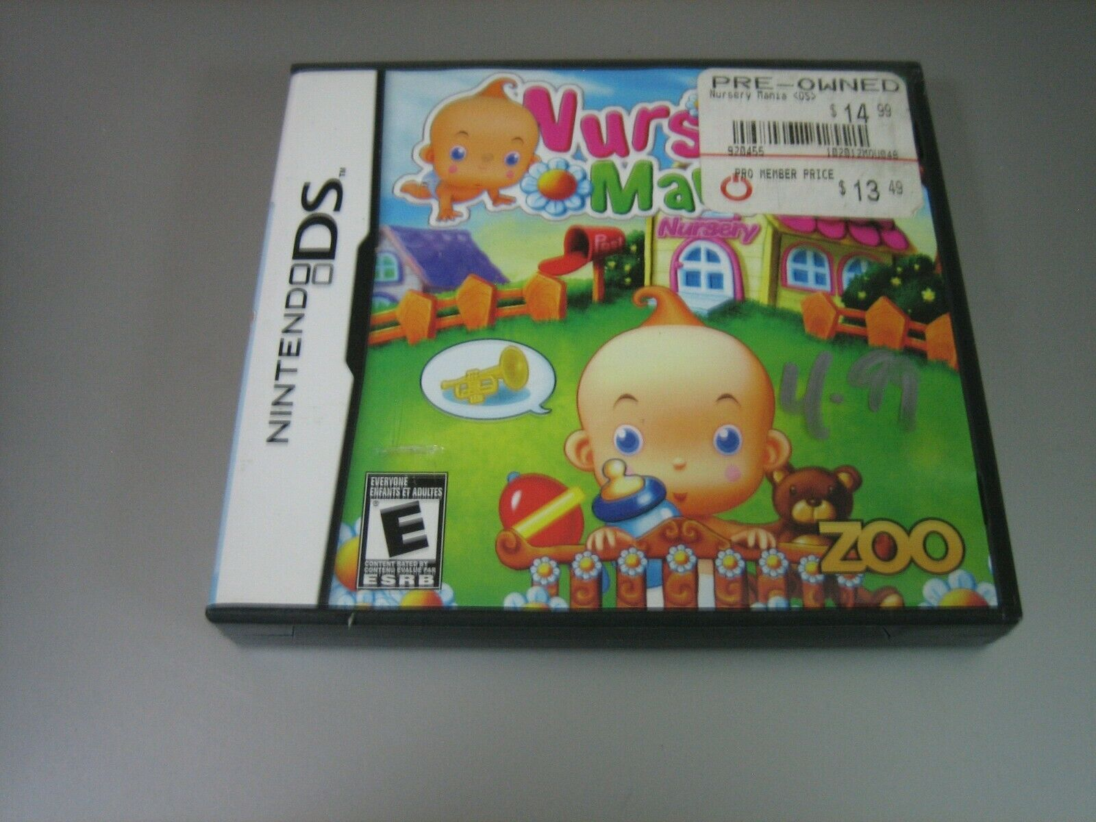 Primary image for Nursery Mania (Nintendo DS, 2010) - Complete!!!