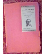 Mark Twain Notes on his Life and Work.  A. Paine. 1928 Rare. The House o... - $35.00