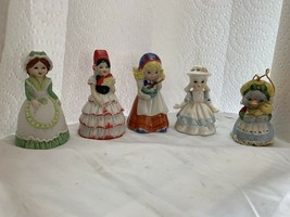 bell collection lot of 5 - $8.36