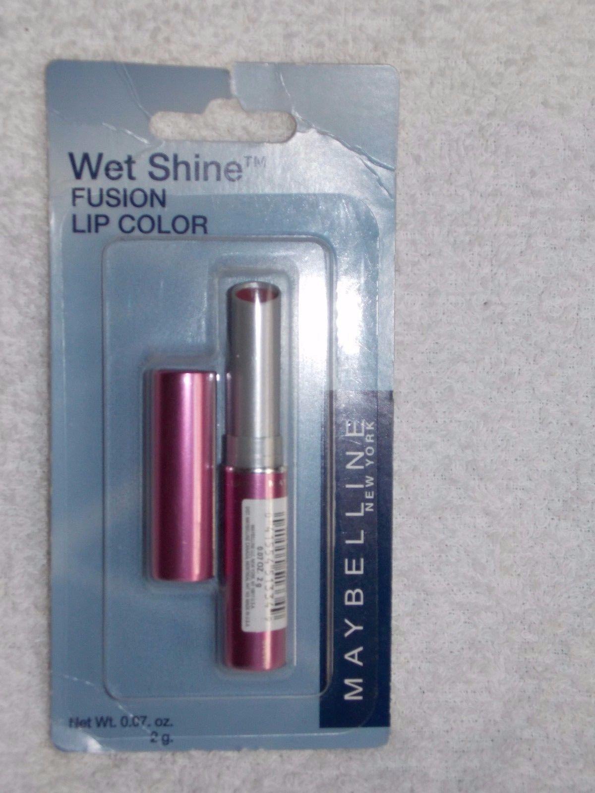 Maybelline CHOOSE YOUR COLORWet Shine Fusion Lip Color .07 oz/2g New
