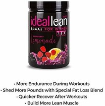 IdealLean BCAA For Women - Amino Acids for Women | Maximize Fat Burn  - $106.92