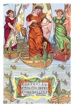 I Saw Three Ships by Walter Crane - Art Print - $19.99+