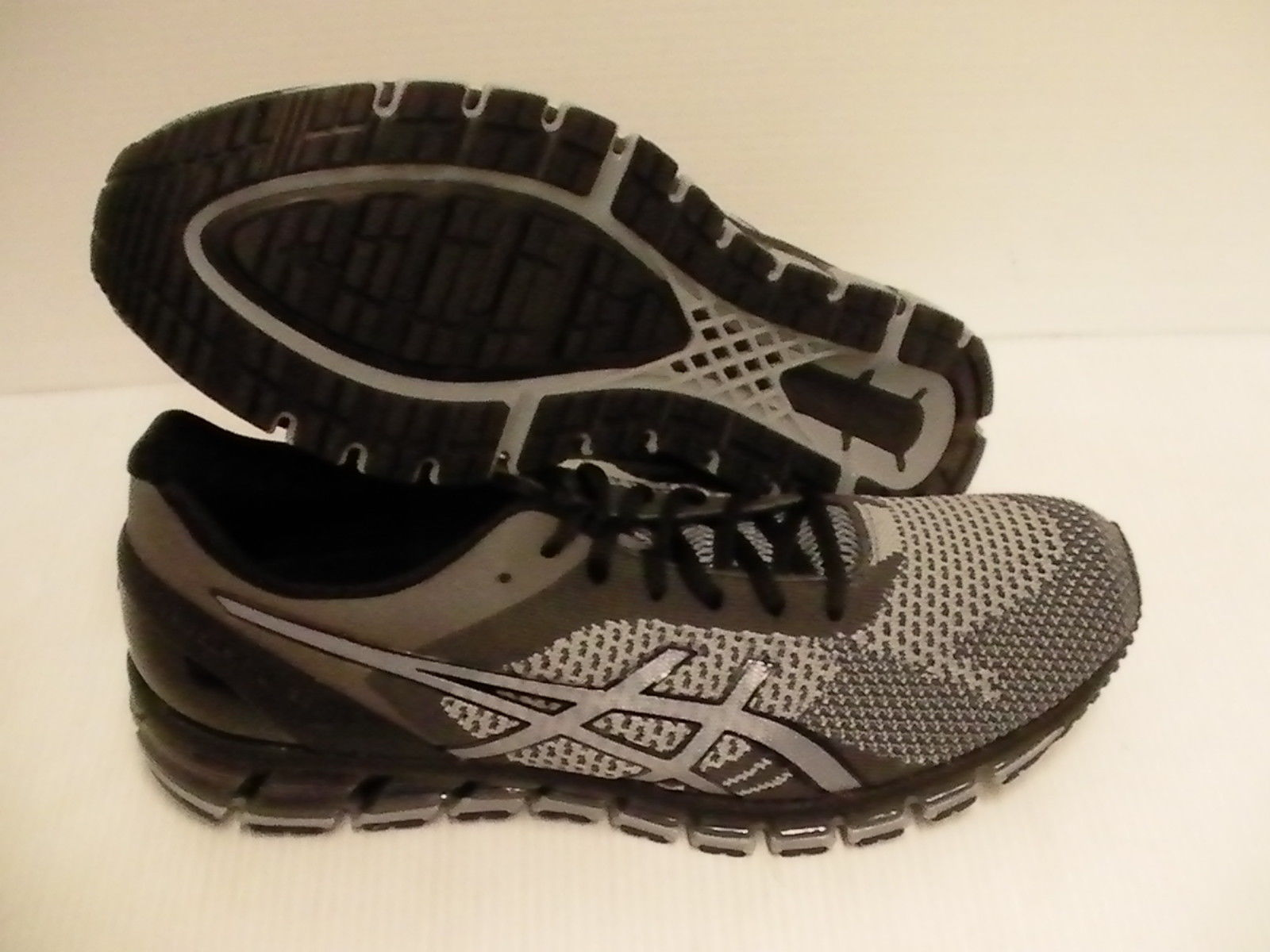 separation shoes 622db 241e1 57. 57. Asics men s gel quantum 360 knit running shoes mid grey carbon black  size 13 us. Asics men s gel ...