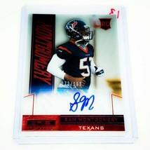 Nfl Sam Montgomery Houston Texans Autographed 2013 Panini Rookie /199 Mnt - $3.03