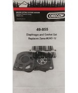 NEW OREGON 49-855 Diaphragm and Gasket Kit Replaces Zama GND-12 - $6.95