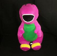 """Barney Speak N Sing Plush 27"""" Fisher Price Stuffed Jumbo Talking Singing - $23.75"""