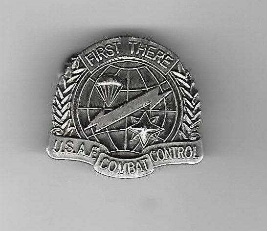 Primary image for AIR FORCE COMBAT CONTROL MILITARY BADGE LAPEL HAT PIN