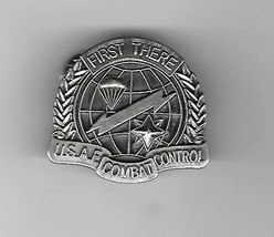 AIR FORCE COMBAT CONTROL MILITARY BADGE LAPEL HAT PIN - $15.33