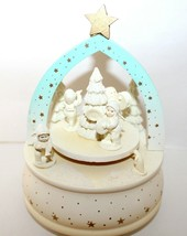 Snowbabies Let It Snow Frosty Frolic Music Box #7634-1 Department 56 Collectible - $15.95