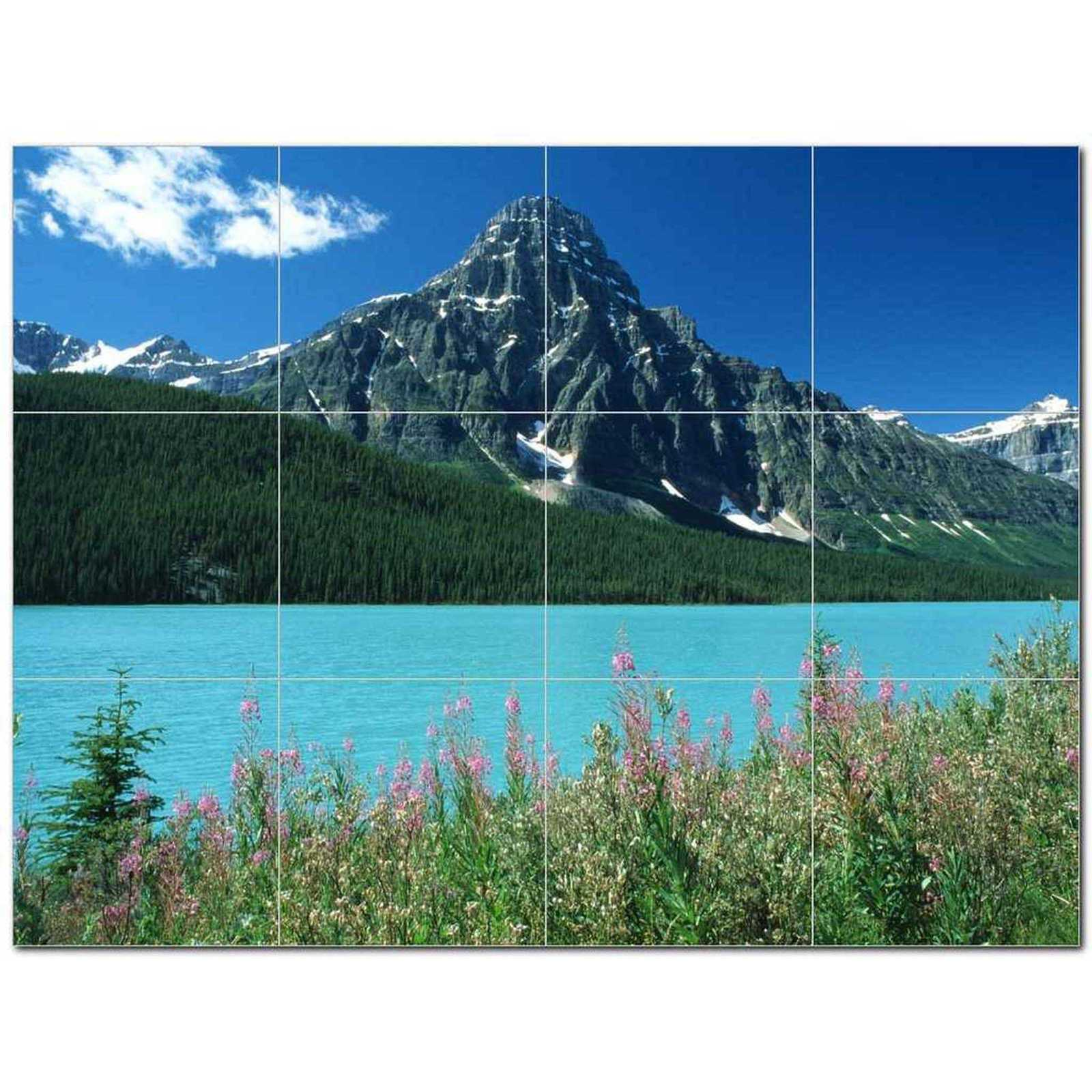 Primary image for Mountain Photo Ceramic Tile Mural Kitchen Backsplash Bathroom Shower BAZ405535