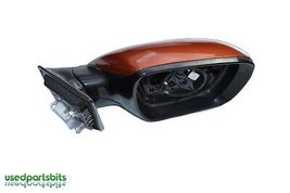 13 14 15 16 Hyundai Santa Fe Right Front Passenger Door Mirror No Glass Oem  - $70.07