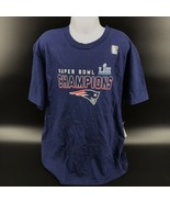 NFL New England Patriots Super Bowl Champions T Shirt Size Youth Medium ... - $14.99