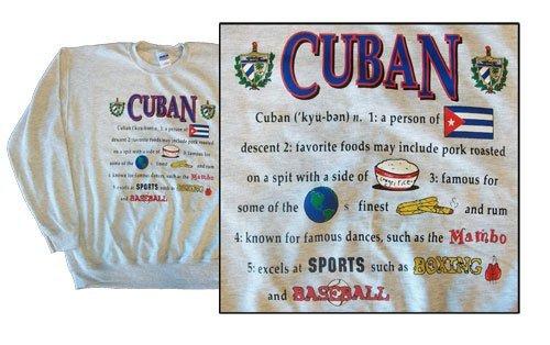 Cuba national definition sweatshirt 10265